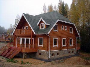дом на фундаменте