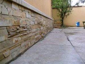 отделка каменной плиткой