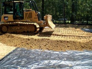 Строительство на песчаных почвах достаточно затруднительно