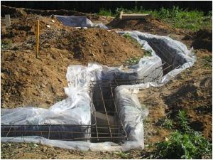 гидроизоляция щелевого фундамента