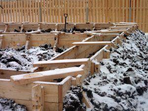 Заливка фундамента в зимнее время требует точного соблюдения технологии