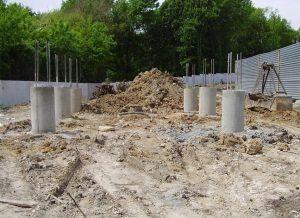 Данный тип свай используется для частного и промышленного строительства