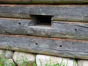 продух в деревянном дома