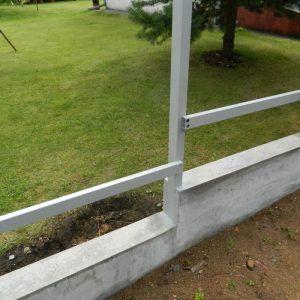 лента под забор