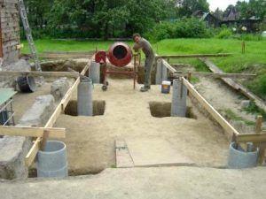 бетонированная труба