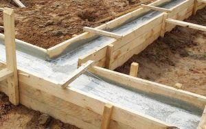 высохший бетон