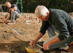 Свайный фундамент - удачный выбор для глинистых грунтов