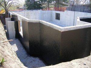 гидроизолированный цокольный этаж