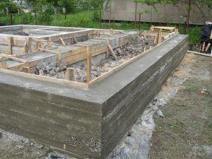Фундамент после демонтажа основания