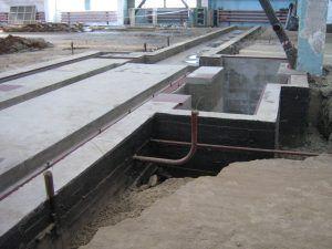 Фундамент под оборудование