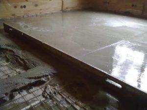 Опалубка для бетонных полов