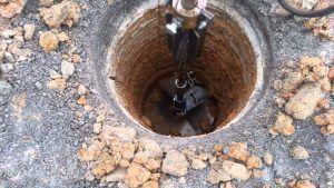 Столбчатый фундамент из металлических труб
