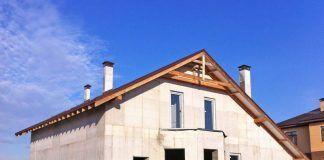 Строительство дома на монолитном фундаменте