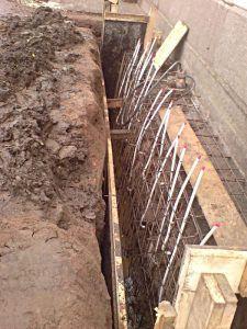 Усиление бетонного основания