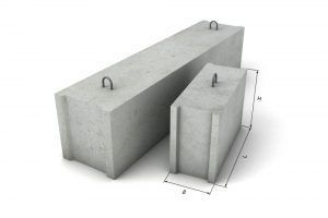 блоки фундамент