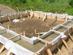 бетонирование работы