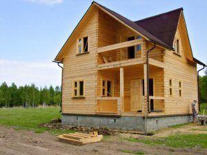 дом ленточный фундамент