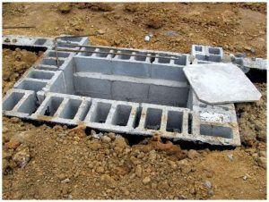 Фундамент для камина