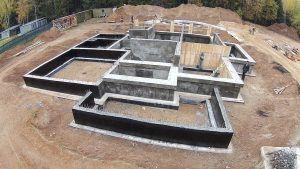 гидроизолированный фундамент