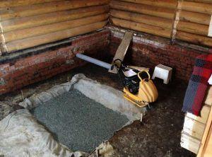 Фундамент для печуи