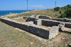 Фундамент древнего рима