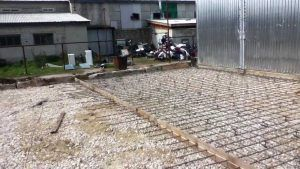 Подготовка к заливке бетона