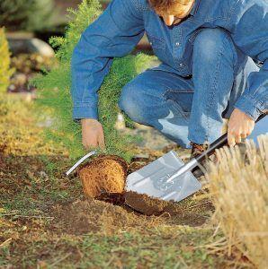 Земляные работы лопата