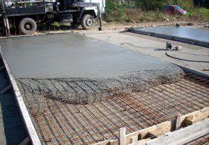 застывание бетона
