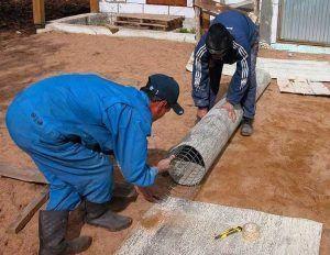 Подготовка обсадной трубы