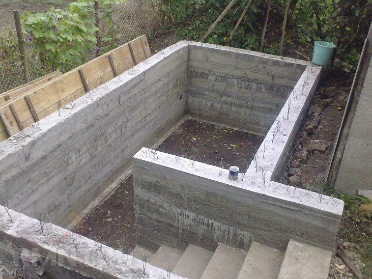 Подвал в доме с ленточным фундаментом своими руками: пошаговая инструкция