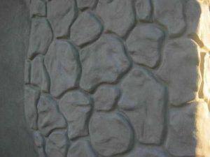 Расшивка цоколя под камень
