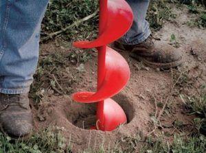 Бурение скважины для оценки грунта