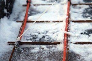 Снег и мороз могут сильно навредить фундаменту