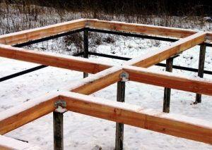 Фундаменту из винтовых свай мороз не страшен