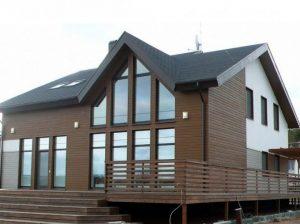 Конструкция тяжелого дома на сваях