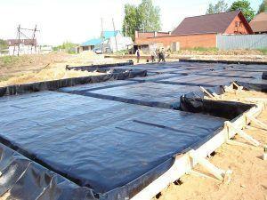 гидроизоляция плиты