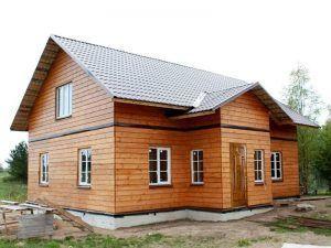 Дом на ленточном фундаменте