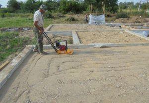Гравийно-песчаная подушка