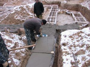бетон своими руками