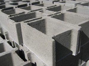 Несъемная опалубка из бетона