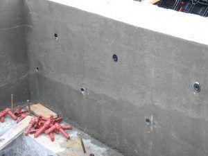 стена опалубка