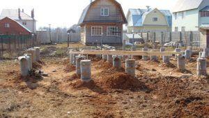 Разновидности фундаментов для строительства дома