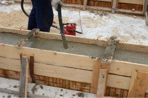 бетон в опалубку