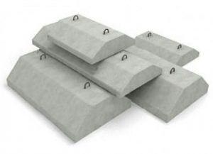 Бетонные фундаментные подушки