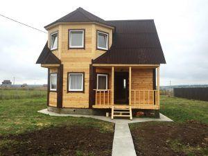 Дом на ленточном основании