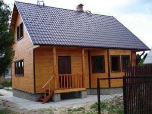 Дом на свайно ленточном фундаменте