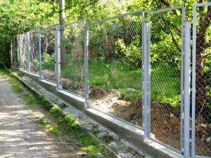 забор фундамент
