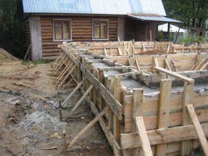 Фундамент строительство