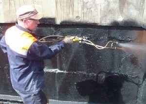 гидроизоляция напылением жидкой резины