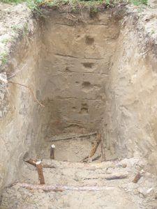 Изучение среза почвы